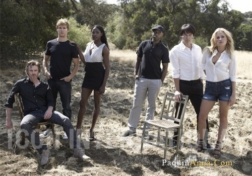 True Blood Cast 照片 Shoot