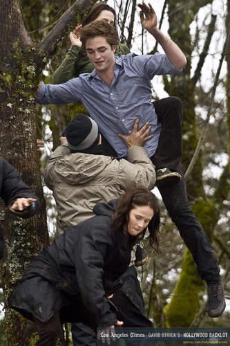 Twilight - on set/behind the scenes