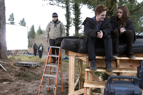 Twilight - on set/behind the scenes