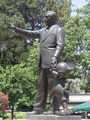 Walt and Mickey - disneyland photo