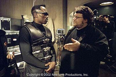 Wesley Snipes & Guillermo del Toro