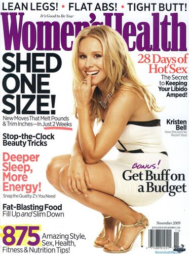 Women's Health Magazine Scans