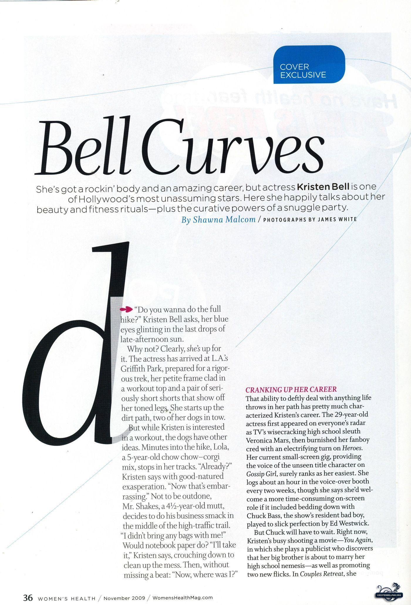 Women's Health Magazine Scans
