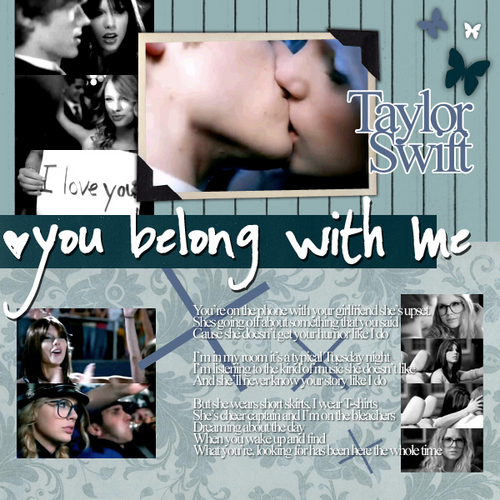 toi Belong With Me - Kiss