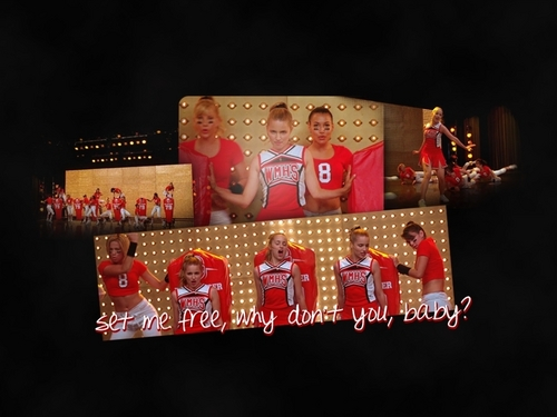 Glee wallpaper titled You Keep Me Hangin' On