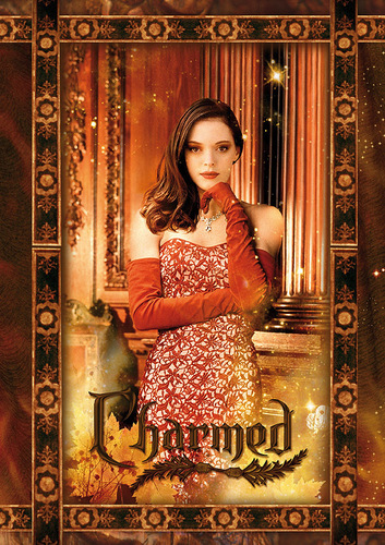Charmed wallpaper possibly containing a drawing room and a sign titled charmed