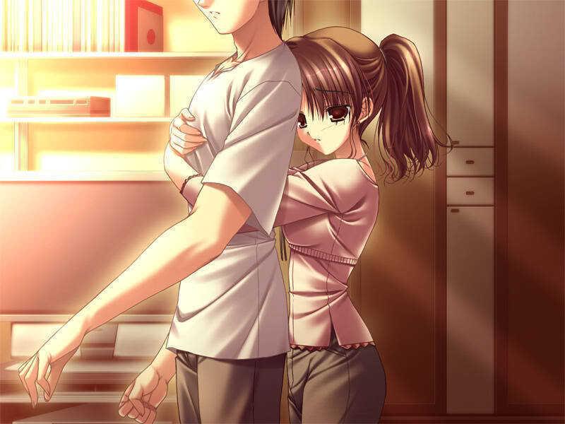 Kagomechan23 39 s profile - Anime boy hugging girl ...