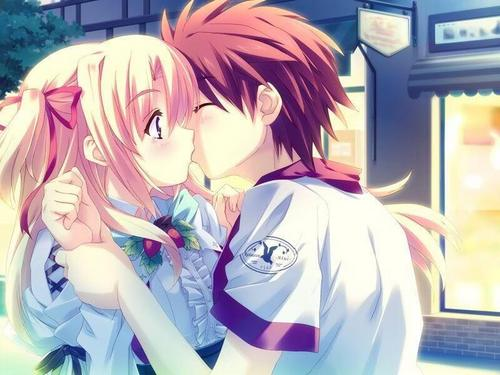 Anime couples images couples (what show r they from?) HD wallpaper and background photos