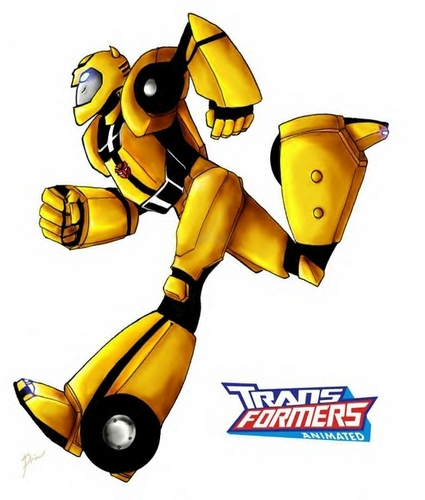 fast /cute/funny bumblebee