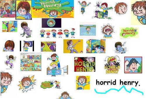 horrid henry.