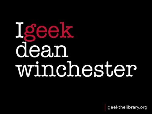 igeek dean winchester - dean-winchester Wallpaper