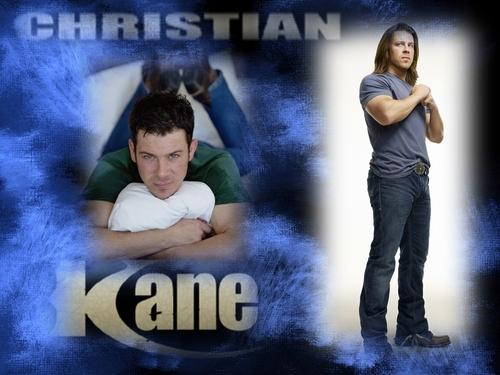 Christian Kane kertas dinding titled kane
