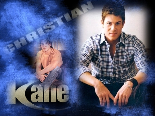 Christian Kane wallpaper probably with a sign and a portrait titled kane