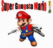 Super Smash Bros. Brawl वॉलपेपर probably containing ऐनीमे entitled mario gangsta