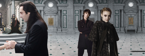 Twilight Series wallpaper possibly with a fur coat and a business suit called new moon