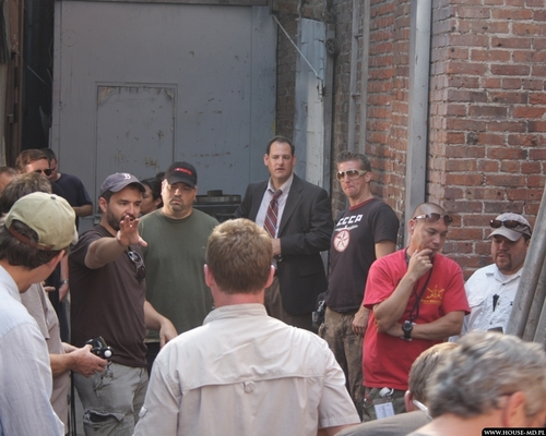 pics from the set