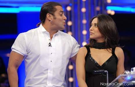rani on dus ka dum with salman