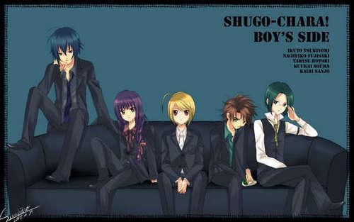 shugo chara boys