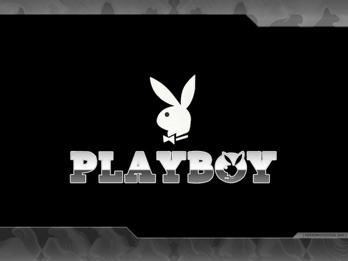 Playboy wallpaper containing a sign called wallpaper