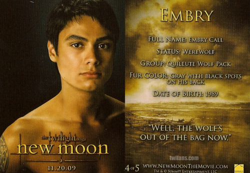 *NEW* New Moon Trading Cards!