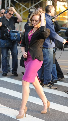 October 20 - On the set of 'The Business of Falling in Love'