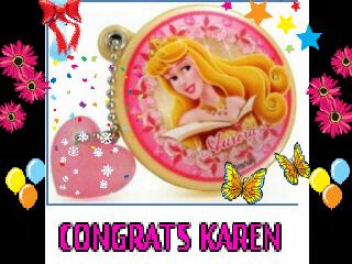 *Princess Aurora Smile To Karen*