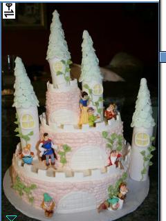 *Snow White Delicious Cake For Team Smile Party*