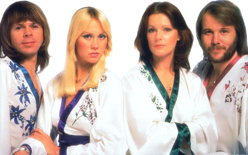 ABBA wallpaper entitled ABBA