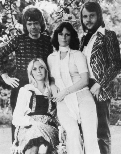 ABBA wallpaper possibly containing a street, a hip boot, and a well dressed person called ABBA