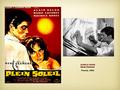 Alain Delon - Plein Soleil