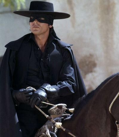 Alain Delon kertas dinding containing a horse wrangler, a snap brim hat, and a horse trail called Alain Delon - Zorro