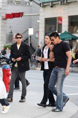 Alex, Chaske and Kiowa