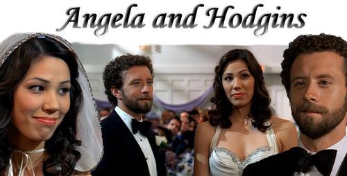 Angela and Hodgins Wedding день <3