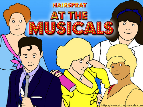 At The musikal featuring hairspray