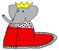 Babar - Coronation Outfit - babar-the-elephant fan art