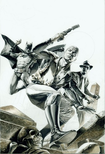 Batman Doc Savage and The Spirit