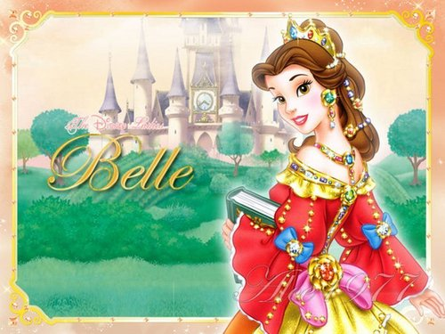 Beauty and the Beast wallpaper possibly with anime called Belle