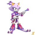 Blaze the Cat in Mario and Sonic at the Winter Olympic Games