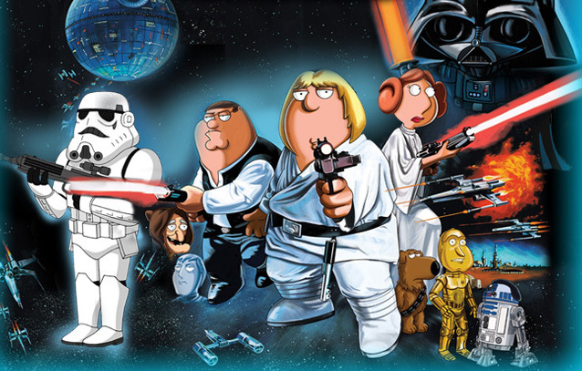 Family Guy Blue Harvest Images Blue Harvest Wallpaper And Background