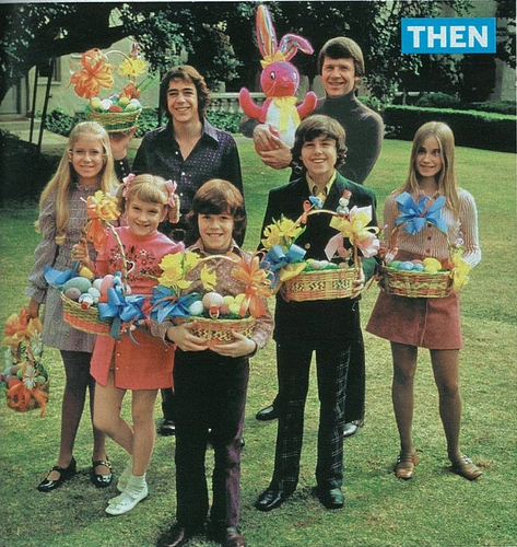 Brady Bunch Easter pic
