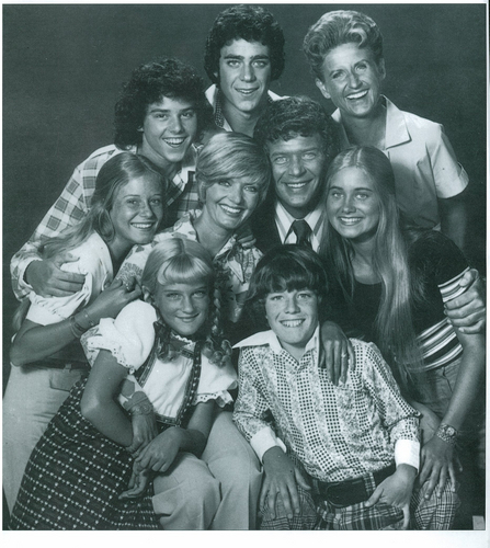 Brady Bunch Season 5 posed