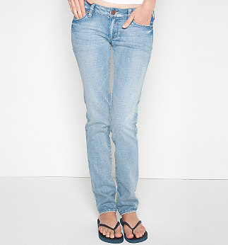 Teen Fashion wallpaper with a jean entitled Bullhead Hermosa Super Skinny Jeans