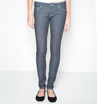 Bullhead Solana Extreme Skinny Dark Rinse Jeans