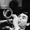 Cary Grant photo probably with a bugle, a bandsman, and an euphonium titled Cary Grant