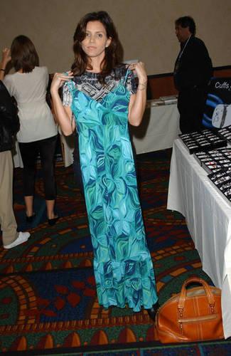 Charisma Carpenter At Hollywood Collector's & célébrités montrer