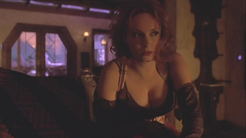 Christina Hendricks wallpaper probably containing attractiveness and a portrait entitled Christina Hendricks | Firefly Screencaps