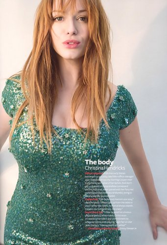 Christina Hendricks | InStyle UK