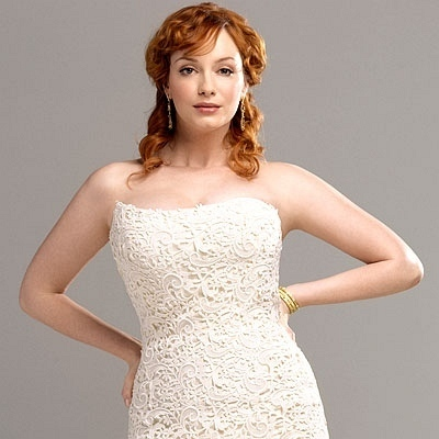 Christina Hendricks wallpaper entitled Christina Hendricks | InStyle Weddings