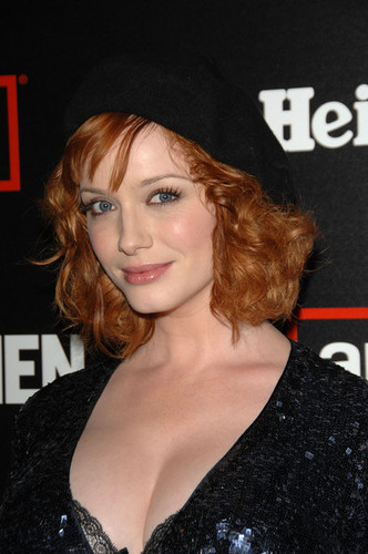 Christina Hendricks | Mad Men Season 2 包, 换行 Party