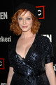 Christina Hendricks | Mad Men Season 2 envolver, abrigo Party